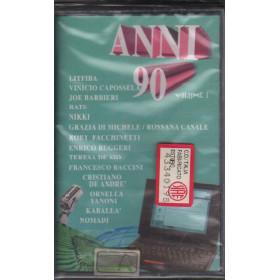 AAVV MC7 Anni 90 Volume 1 / CGD East West 0630 13651-4 MusicA Sigillata