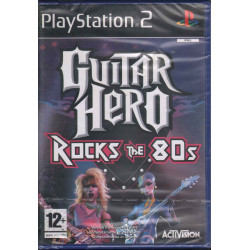 Guitar Hero Rock The 80s Videogioco Playstation 2 PS2 Activision Sigillato