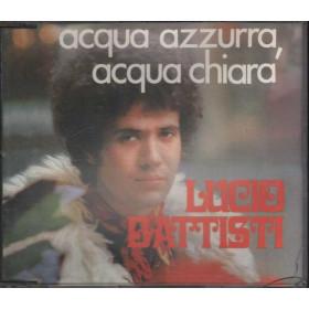 Lucio Battista CD's SINGOLO Acqua azzurra, acqua chiara Nuovo NON Sigillato