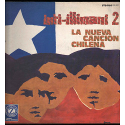Inti-Illimani Lp Vinile Inti-Illimani 2 - La Nueva Cancion Chilena Nuovo