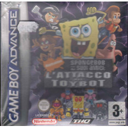 Spongebob L'Invasione dei Toybots Videogioco Game Boy Advance GBA THQ Sigillato