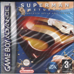 Superman Returns Videogioco Game Boy Advance Electronics Arts Sigillato