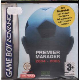 Premier Manager 2004 2005 Videogioco Game Boy Atari Sigillato