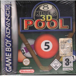 Killer Pool 3D Videogioco Game Boy Atari Sigillato