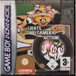 Animaniacs Lights Camera Action Videogioco Game Boy / Ignition Nuovo