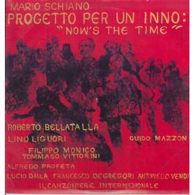Mario Schiano Lp Vinile Progetto Per Un Inno Now's The Time it ZSLT70030 Nuovo