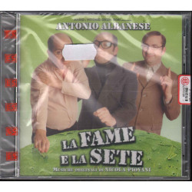 Nicola Piovani CD La Fame E La Sete / Uomo D'Acqua Dolce / EMI Virgin Sigillato