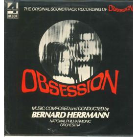 Bernard Herrmann Lp Vinile Obsession Decca Phase 4 Stereo OST Soundtrack Nuovo