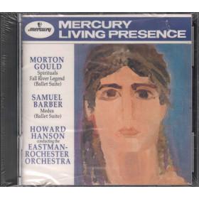 Howard Hanson CD Spirituals Fall River - Legend - Medea / Mercury Sigillato