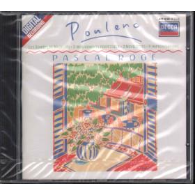 Poulenc / Pascal Roge CD Les Soirees De Nazelles • 3 Mouvements Decca Sigillato