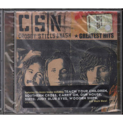 Crosby Stills & Nash ‎CD Greatest Hits / Atlantic ‎– 8122 76537 2 Sigillato
