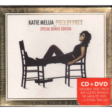 Katie Melua CD DVD Piece By Piece - Slipcase Nuovo Sigillato 0802987004428