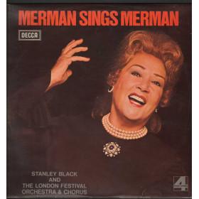 Ethel Merman / Stanley Black Lp Vinile Merman Sings Merman / Decca Phase 4 Nuovo