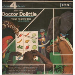 Frank Chacksfield & His Orchestra Lp Music From Doctor Dolittle / Decca Nuovo