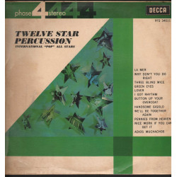 International Pop All Stars Lp Twelve Star Percussion / Decca Phase 4 Nuovo