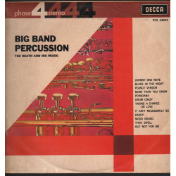 Ted Heath And His Music Lp Big Band Percussion / Decca Phase 4 Stereo Nuovo
