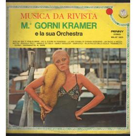 M. Gorni Kramer E La Sua Orchestra Lp Musica Da Rivista Penny REL-ST 19375 Nuovo