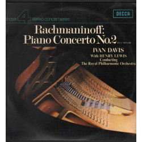 Rachmaninoff / I Davis / H Lewis Lp Piano Concerto No. 2 In C Minor Decca Nuovo