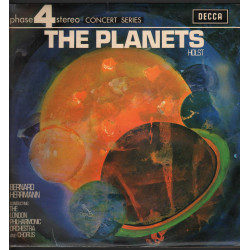B Herrmann / G Holst Lp The Planets Suite For Large Orchestra / Decca Nuovo