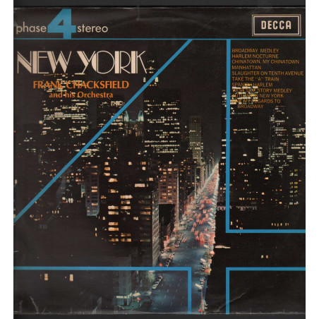 Frank Chacksfield And His Orchestra Lp New York / Decca Phase 4 Nuovo