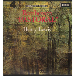 Beethoven / Henry Lewis Lp Pastoral Symphony No 6 In F Major Op 68 / Decca Nuovo