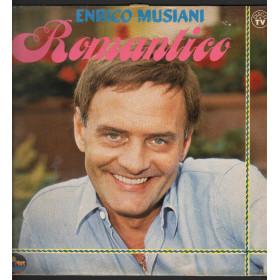 Enrico Musiani Lp Vinile Romantico / Alpharecord LP AR 5003 Nuovo