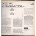 Stanley Black / The London Philharmonic Orchestra Lp Overture Decca Phase Nuovo