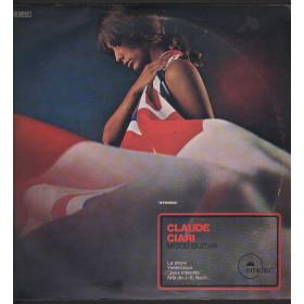 Claude Ciari Lp Vinile Mood Guitar / Emidisc C 048-50744 Nuovo