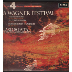 Carlos Paita / Wagner Lp Vinile A Wagner Festival / Decca Phase 4 Stereo Nuovo