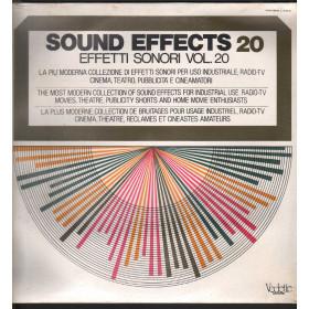 Sound Effects 20 - Effetti Sonori Vol 20 Lp Vinile Vedette VSM 38583 Sigillato