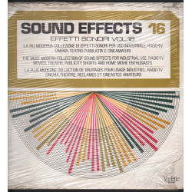 Sound Effects 16 - Effetti Sonori Vol 16 Lp Vinile Vedette VSM 38577 Sigillato