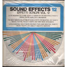Sound Effects 12 Effetti Sonori Vol 12 Lp Vinile Vedette VSM 38573 Sigillato