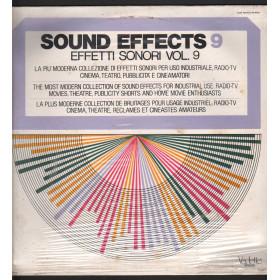 Sound Effects 9 - Effetti Sonori Vol 9 Lp Vinile Vedette VSM 38570 Sigillato