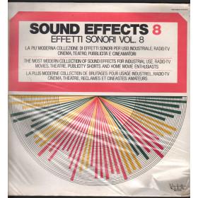 Sound Effects 8 - Effetti Sonori Vol 9 Lp Vinile Vedette VSM 38569 Sigillato