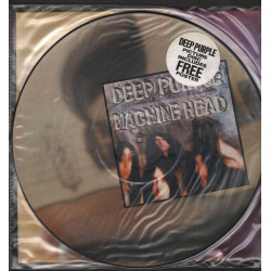 Deep Purple Lp Vinile Picture Disc Machine Head Poster / Harvest Nuovo