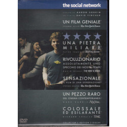 The Social Network DVD Jesse Eisenberg / Andrew Garfield Sony Picture Sigillato