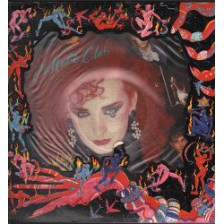 Culture Club Lp Vinile Picture Disc Waking Up With The House On Fire Nuovo