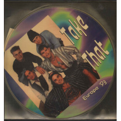 """Take That Vinile 12"""" Picture Europe '93 / On Stage Records ON PD/2318 Nuovo"""