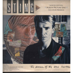 Sting Lp Vinile Picture Disc The Dream Of The Blue Turtles Limited Ed A&M Nuovo
