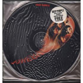 Deep Purple Lp Vinile Picture Disc Fireball Poster / Harvest EJ26 0344 0 Nuovo