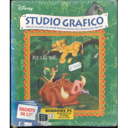 Studio Grafico - Il Re Leone Disney Interactive Windows Videogioco Sigillato