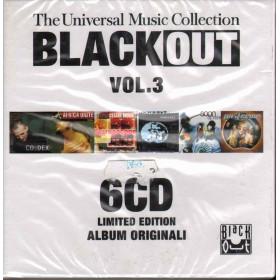 Black Out Vol. 3 The Universal Music Coll - Cof 6 CD Sigillato 0602527351926
