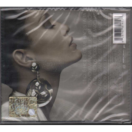 Jennifer Lopez CD Como Ama Una Mujer / Epic Sony BMG 82876781492 Sigillato