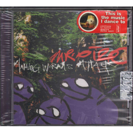 Mr. Oizo CD Analog Worms Attack - Family Affair Sigillato 8018344841915