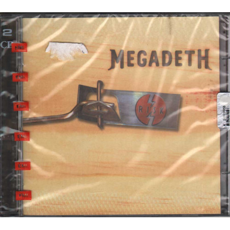 Megadeth 2 CD Risk / EMI Capitol Records Sigillato 0724352233601