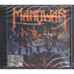 Manowar ‎CD Fighting The World / ATCO ‎7567-90563-2 Sigillato