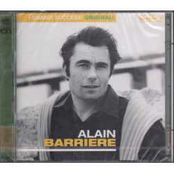 Alain Barriere CD Grandi Successi Originali Flashback RCA 743219343622 Sigillato