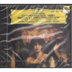 C Debussy / C. Abbado CD La Demoiselle Eluie, Iberia, Prelude Sig. 0028942310322