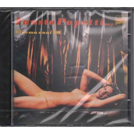 Fausto Papetti CD Cinema Anni '60 / Sexy Cover Sigillato 0743216157426