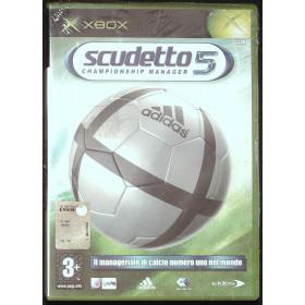 Scudetto 5 Championship Manager Videogioco XBOX Eidos Interactive Sigillato